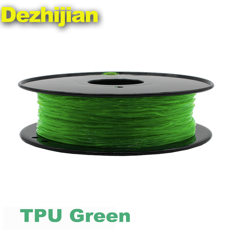 Flexible TPU 3D Printer Filament 1.75 / 3.0 mm For 3D Printer